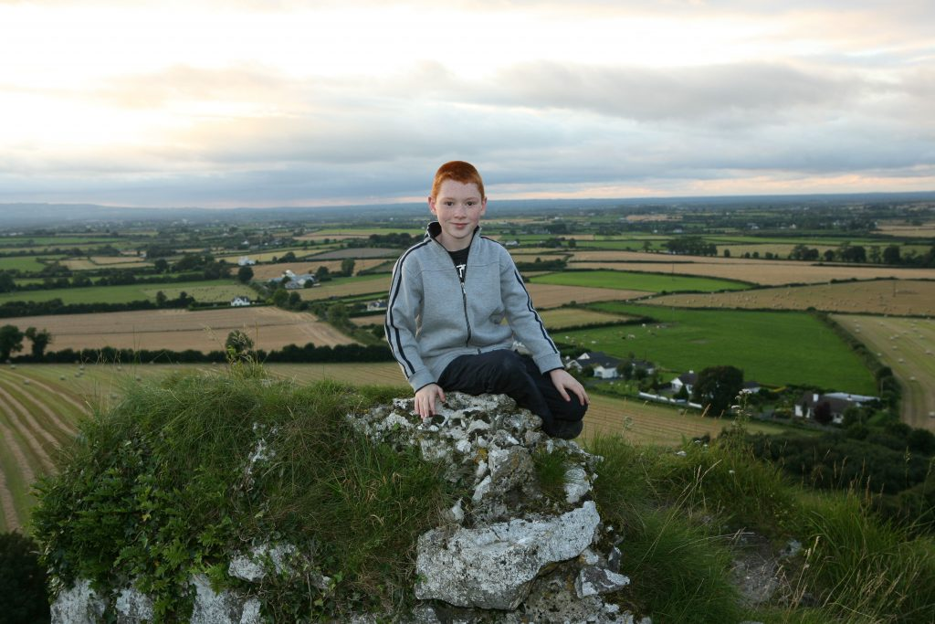 A Heritage Week tour of the Rock of Dunamase provides an ideal opportunity to view the beautiful landscape around the Rock